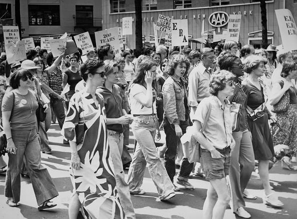 Hulton Archive「Equal Rights Amendment March, NYC」:写真・画像(15)[壁紙.com]