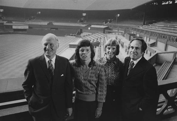 1975年「Tennis Parity Pay Talks」:写真・画像(17)[壁紙.com]