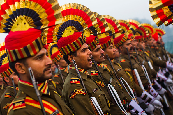 Indian Culture「Indian Soldiers Practice Ahead Of Republic Day」:写真・画像(5)[壁紙.com]