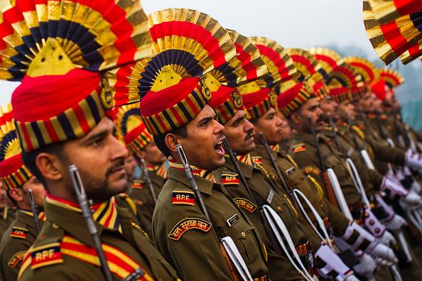 歩兵「Indian Soldiers Practice Ahead Of Republic Day」:写真・画像(6)[壁紙.com]