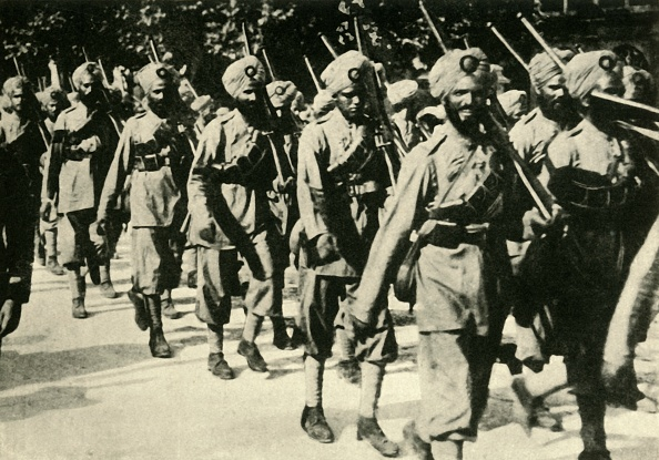 British Empire「Indian Soldiers In France」:写真・画像(8)[壁紙.com]