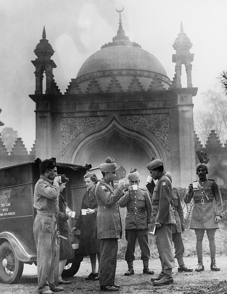 Indian Subcontinent Ethnicity「Indian Soldiers At Woking Mosque」:写真・画像(15)[壁紙.com]