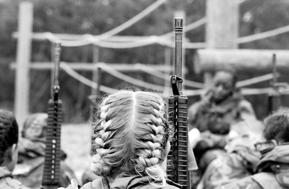 Tom Stoddart Archive「Women Marines」:写真・画像(9)[壁紙.com]