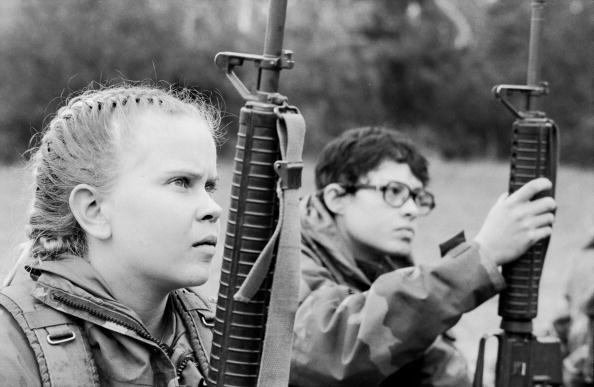 Tom Stoddart Archive「Women Marines」:写真・画像(7)[壁紙.com]