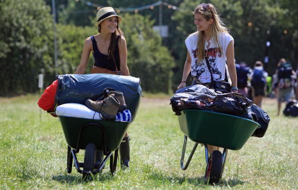Worthy Farm「Fans Begin To Arrive For This Years Glastonbury Festival」:写真・画像(6)[壁紙.com]