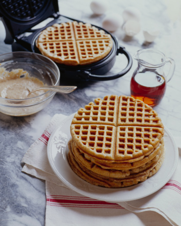 Napkin「Five grain Waffles with Waffle Maker」:スマホ壁紙(19)