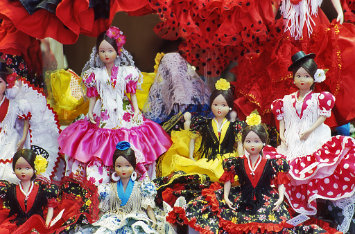 Gift Shop「Souvenir spanish dolls,Madrid  Spain」:スマホ壁紙(8)