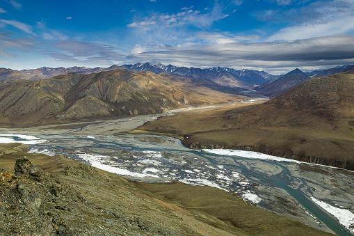 Arctic National Wildlife Refuge「Kongakut river and Pagenak creek」:スマホ壁紙(19)