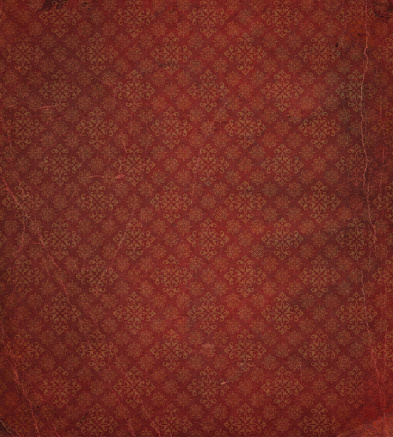 19th Century「heavily distressed wallpaper pattern」:スマホ壁紙(8)