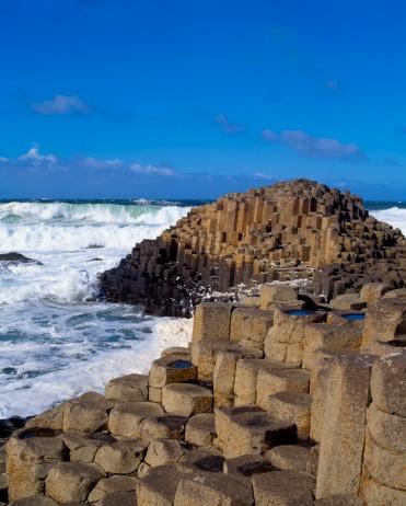 Basalt「The Giant's Causeway, Co Antrim, Ireland」:スマホ壁紙(7)