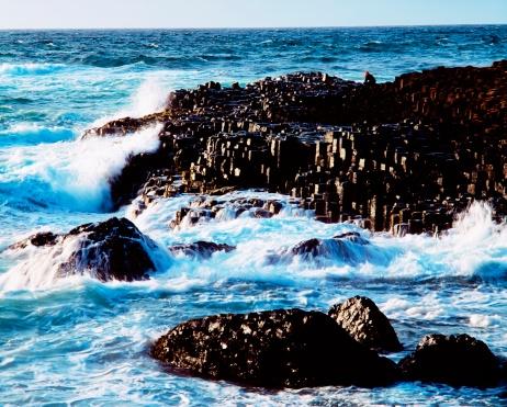 Basalt「The Giant's Causeway, Co Antrim, Ireland」:スマホ壁紙(10)