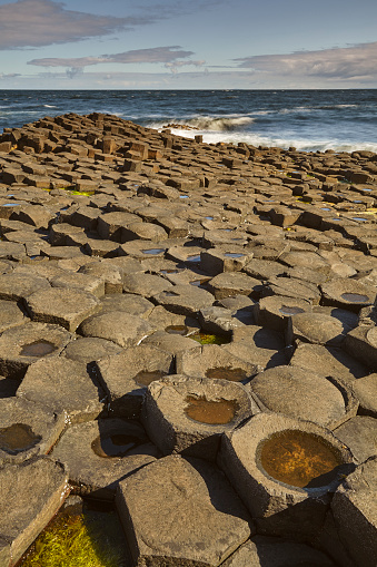 Basalt「The Giant's Causeway, a World Heritage Site, in County Antrim, Northern Ireland, UK」:スマホ壁紙(16)