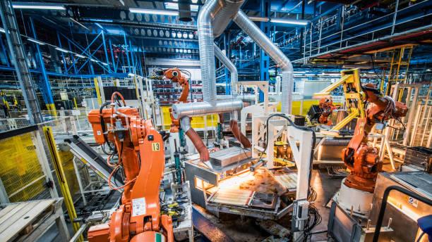Automated factory:スマホ壁紙(壁紙.com)