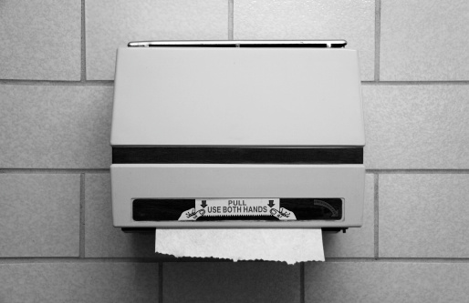 Human Hand「Public Bathroom Paper Towel Dispenser」:スマホ壁紙(8)
