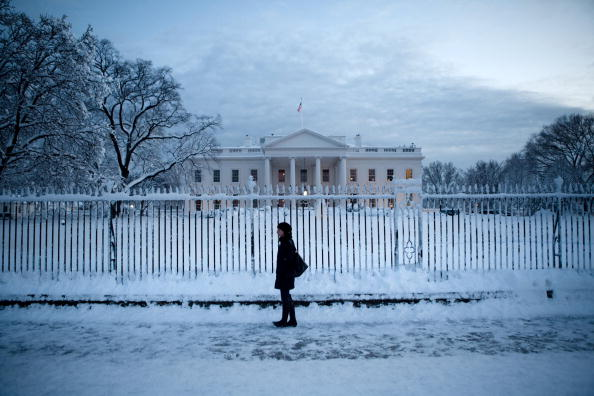 Snow「Second Major Snowstorm Of The Season Hits Washington DC」:写真・画像(10)[壁紙.com]