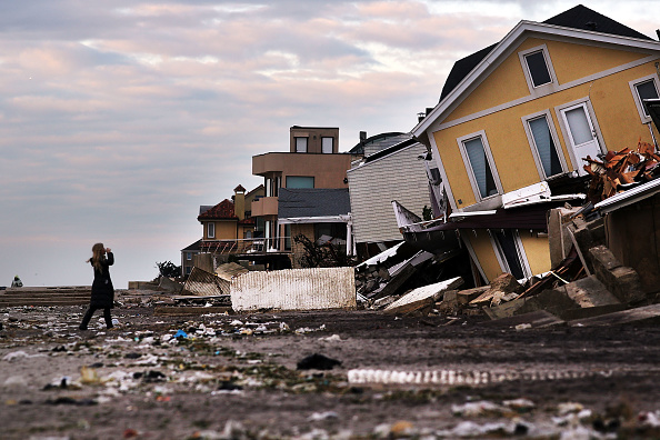 Damaged「New York And New Jersey Continue To Recover From Superstorm Sandy」:写真・画像(11)[壁紙.com]