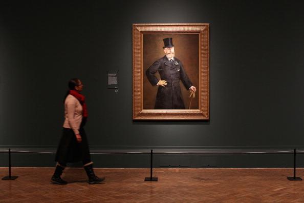 絵「Manet's The Railway Forms Part Of The Royal Academy Of Arts Major New Exhibition」:写真・画像(19)[壁紙.com]