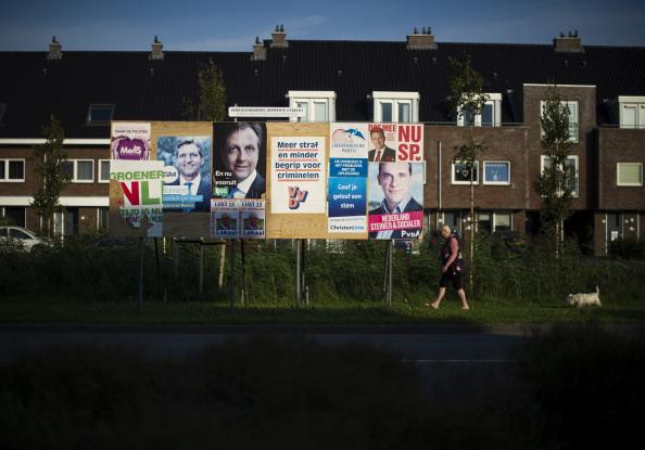 Utrecht「Dutch Prepare For Elections」:写真・画像(15)[壁紙.com]