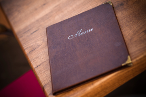 Menu「Leather-Bound Menu at European Cafe」:スマホ壁紙(5)
