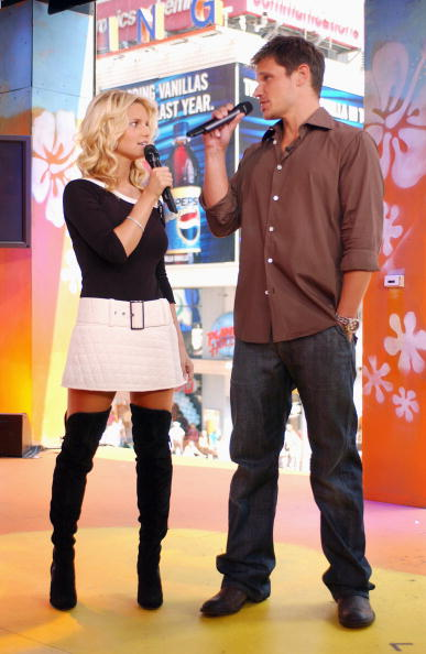 Cable Television「Nick Lachey And Jessica Simpson」:写真・画像(3)[壁紙.com]