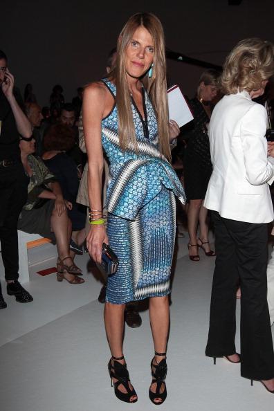 Manolo Blahnik - Designer Label「Salvatore Ferragamo: Front Row - Milan Fashion Week Menswear Spring/Summer 2013」:写真・画像(9)[壁紙.com]
