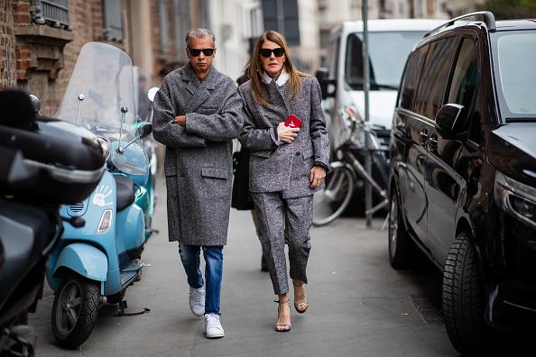 ストリートスナップ「Ermanno Scervino – Street Style - Milan Fashion Week 2019」:写真・画像(7)[壁紙.com]