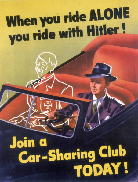 運転手「'When You Ride Alone You Ride With Hitler!'」:写真・画像(4)[壁紙.com]