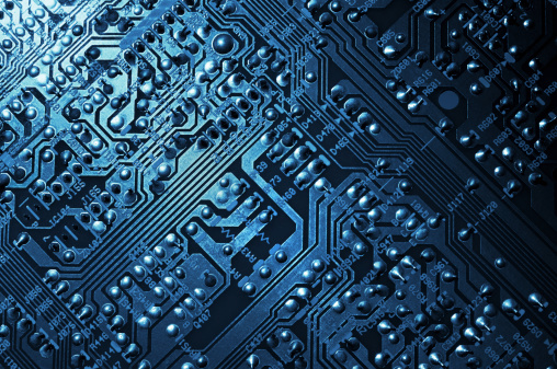 Mother Board「Circuit Board Background」:スマホ壁紙(14)