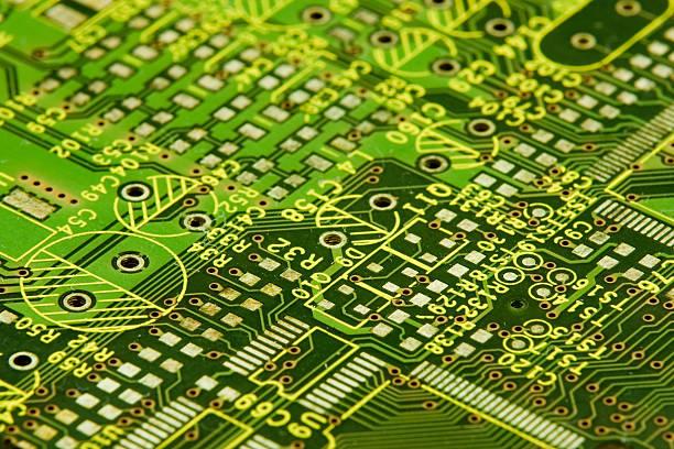 Circuit Board: Close Up:スマホ壁紙(壁紙.com)