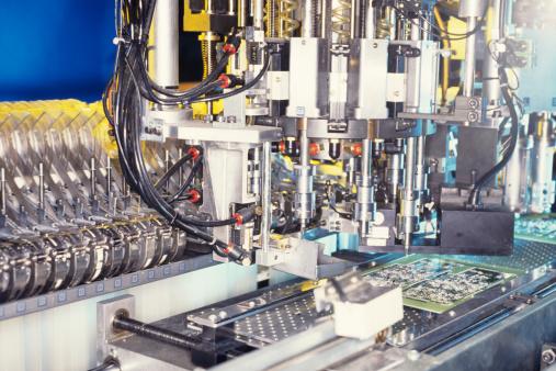 メカ「Circuit board manufacturing」:スマホ壁紙(17)