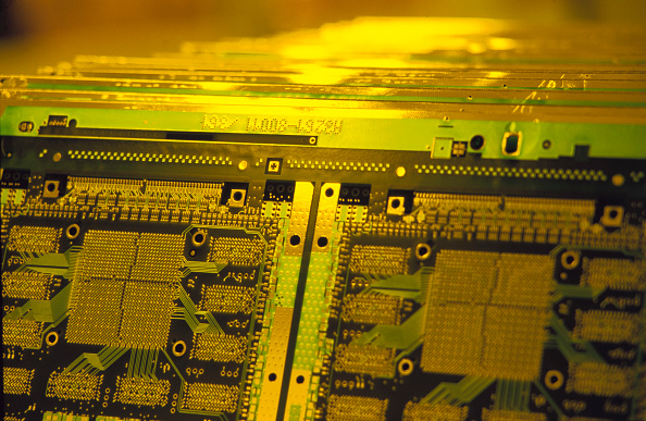 CPU「Circuit board production, Hewlett Packard, Munich Germany」:写真・画像(1)[壁紙.com]