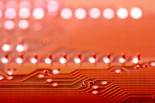 CPU「Circuit Board close-up」:スマホ壁紙(8)