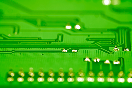 CPU「Circuit Board close-up」:スマホ壁紙(7)