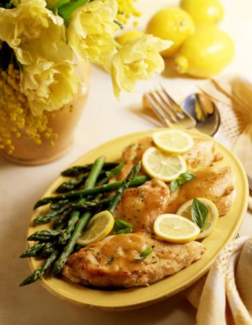 Asparagus「Lemon chicken with asparagus」:スマホ壁紙(2)