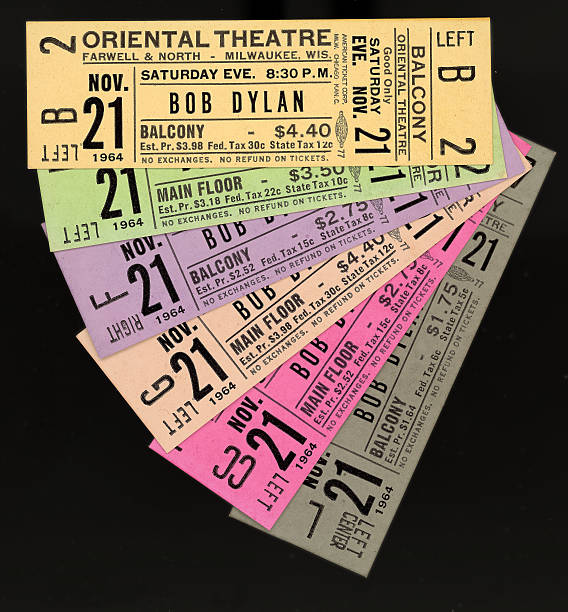 Tickets For 1964 Bob Dylan Concert In Milwaukee:ニュース(壁紙.com)