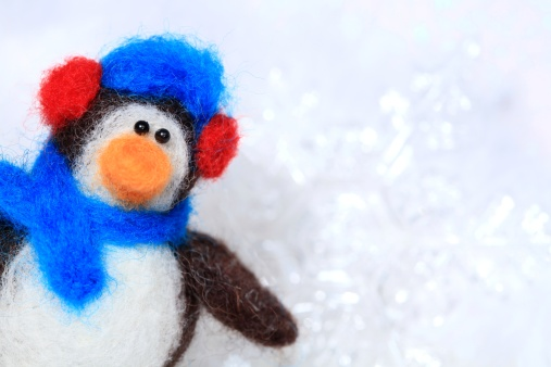 Imagination「Cute Felt Penguin」:スマホ壁紙(2)