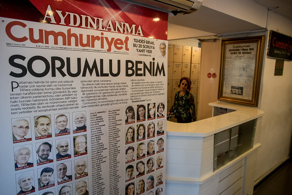 Showing「Work Continues at Cumhuriyet Newspaper Ahead of Journalists Trial」:写真・画像(12)[壁紙.com]