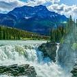 Athabasca Falls壁紙の画像(壁紙.com)