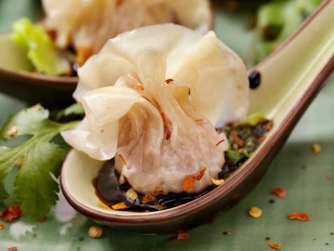 Chinese Dumpling「Steamed Wontons」:スマホ壁紙(16)
