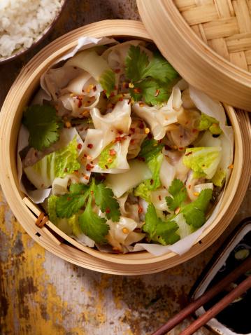 Chinese Dumpling「Steamed Wontons」:スマホ壁紙(17)