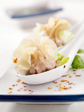 Chinese Dumpling「Steamed Wontons」:スマホ壁紙(19)