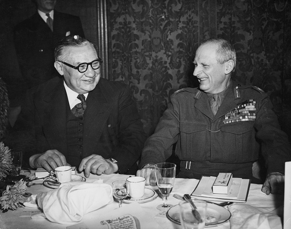 Fred Ramage「Ernest Bevin And Viscount Montgomery」:写真・画像(14)[壁紙.com]