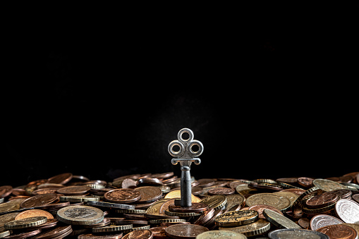 Economic fortune「euro coins」:スマホ壁紙(2)