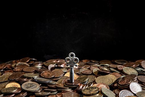 Economic fortune「euro coins」:スマホ壁紙(1)