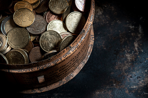 Economic fortune「euro coins」:スマホ壁紙(5)