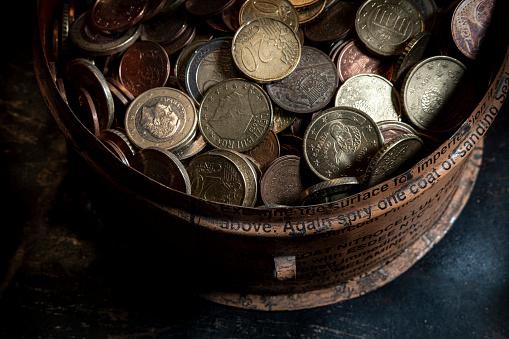 Economic fortune「euro coins」:スマホ壁紙(3)