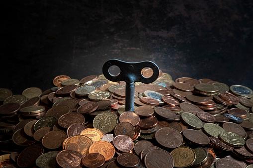Economic fortune「euro coins」:スマホ壁紙(7)