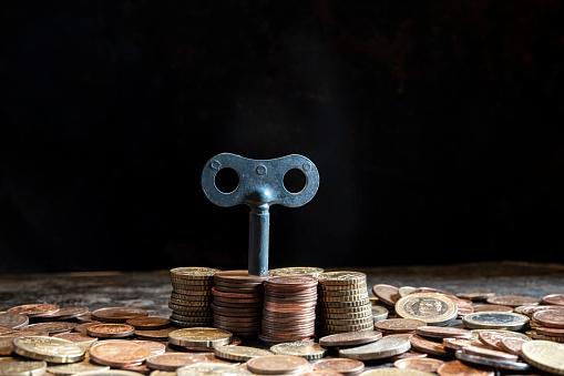 Economic fortune「euro coins」:スマホ壁紙(4)