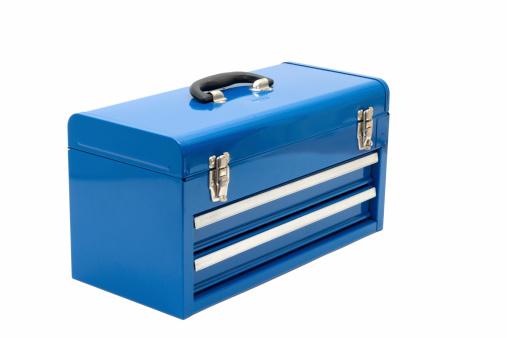 Closed「Blue Toolbox」:スマホ壁紙(9)