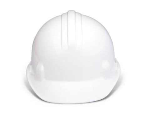 Hardhat「White hard hat with clipping path」:スマホ壁紙(7)